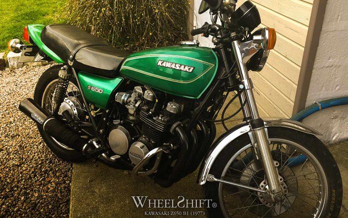 Kawasaki Z650 B1 (1977)